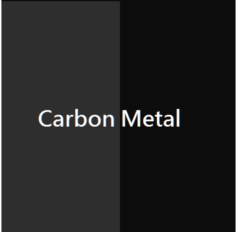 Carbon Metalized