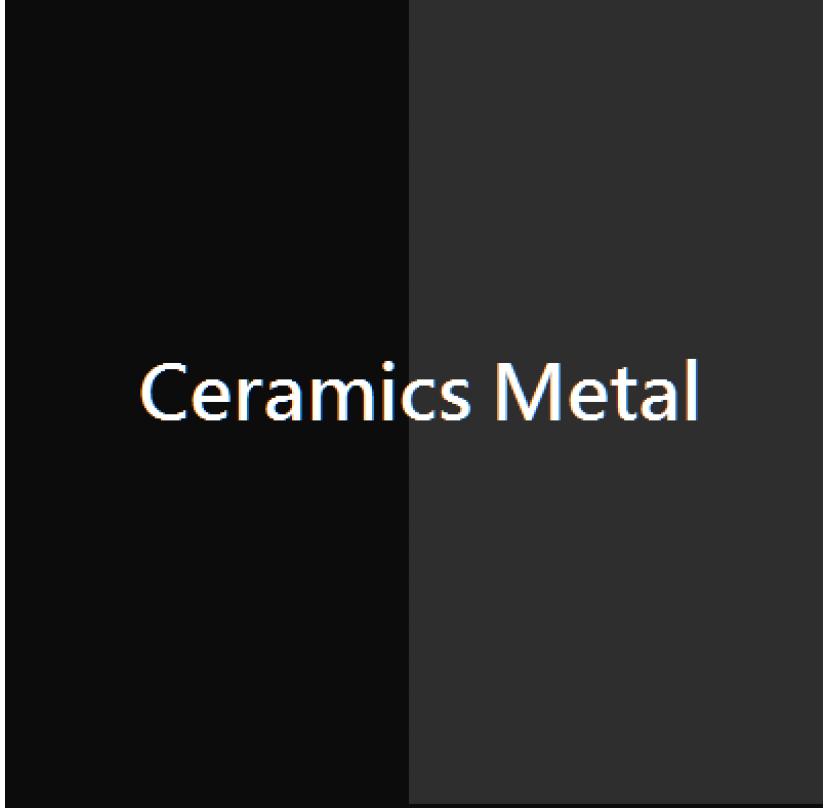 Ceramics Metalized