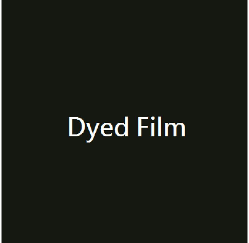 Dyed Film